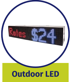 Outdoor LED Signs - IPdisplay