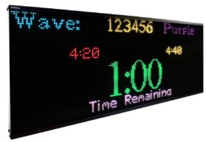 IP64x160RG - IPdisplays LED Sign