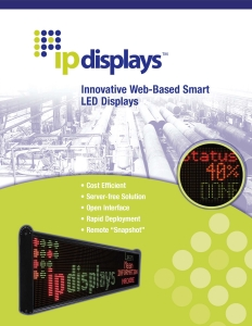 Download IPdisplays LED Brochure