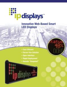 Download IPdisplays LED Brochure