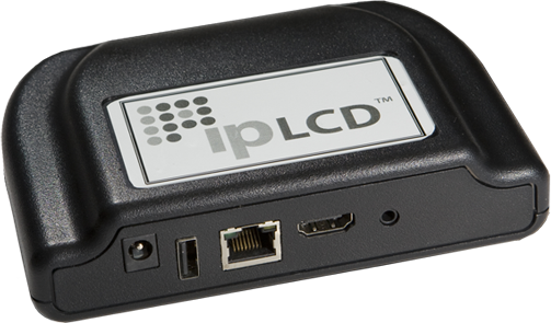 Smart LCD Appliance for Plasma or LCD Displays